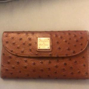Dooney and Bourke Wallet with checkbook Slot